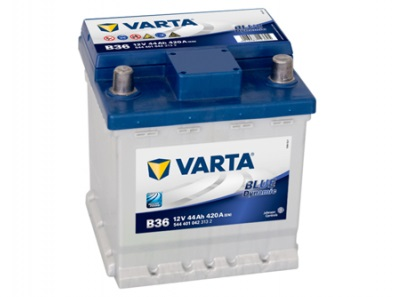 Akumulators VARTA 44Ah 420A 175*175*190 -+ Blue